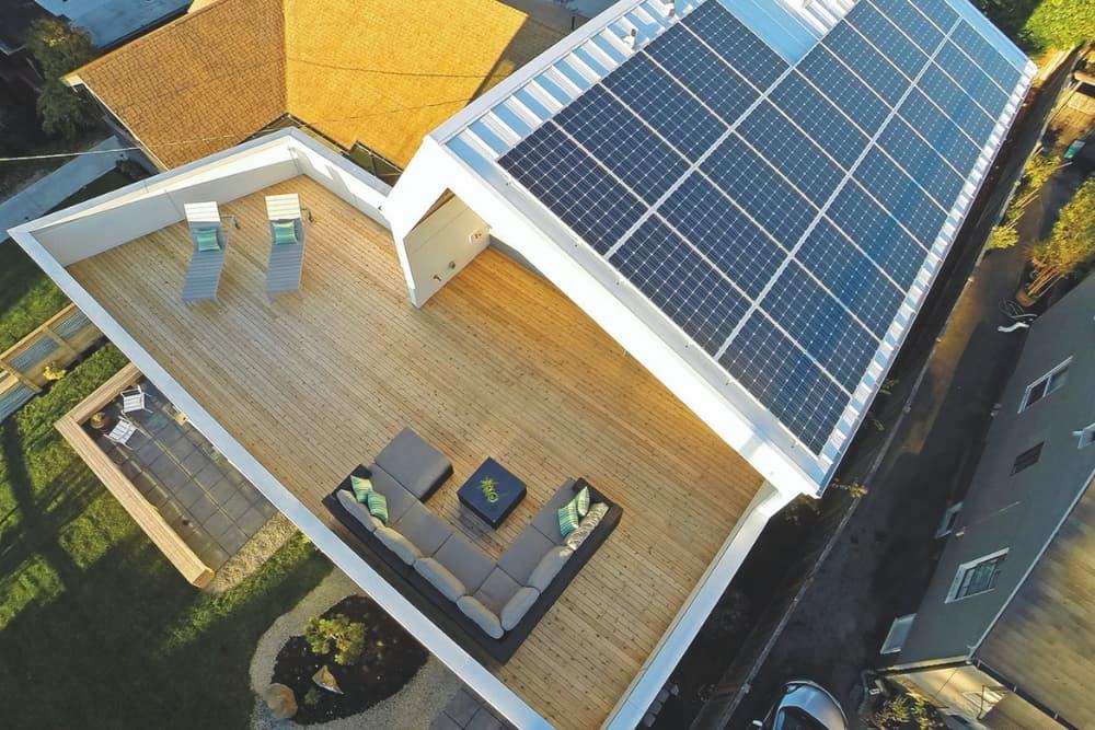 Creative Radiators are designed to use renewable energy