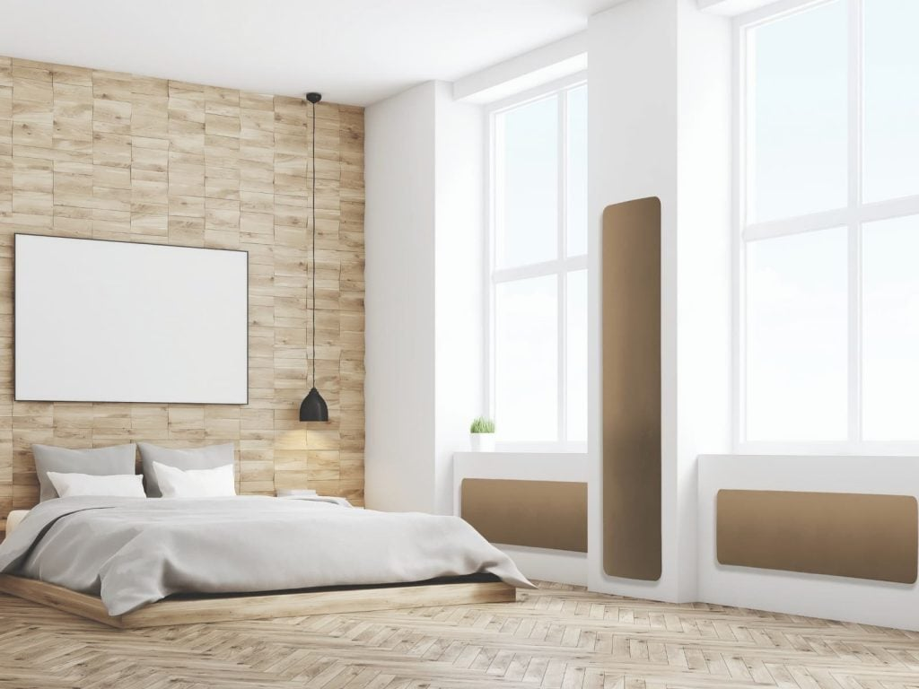 Curva electric radiators can be installed horizontally and vertically