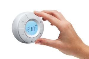 Digital thermostat control for electric radiators Creative Radiators