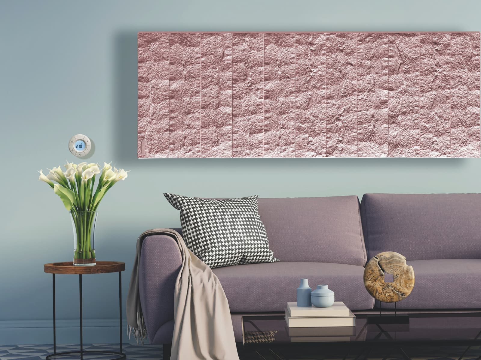 Pietra electric radiators provides comfy heat in the lounge