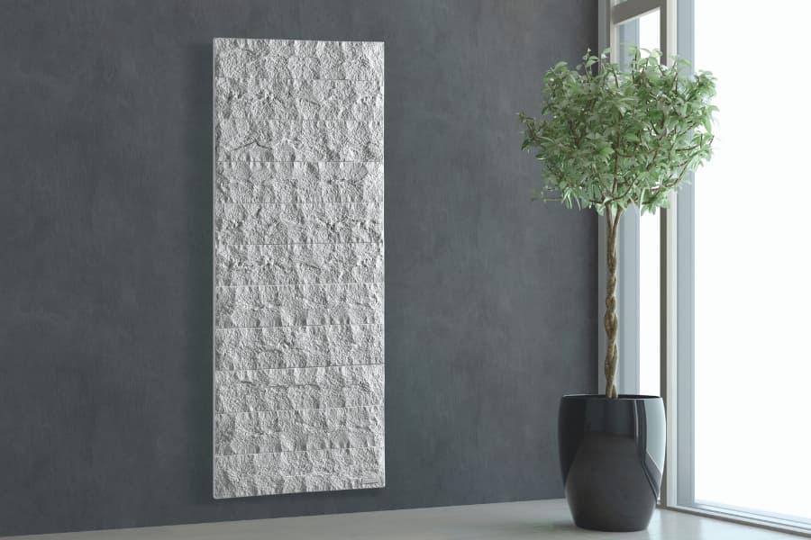 Pietra italian designer electric stone radiator by Creative Radiators