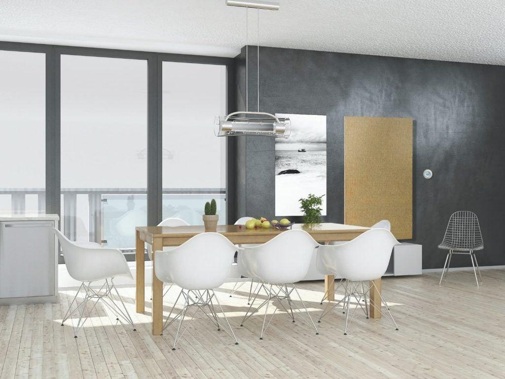 Tocco electric radiators match modern or classic decor