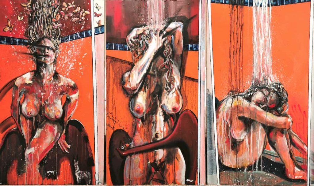 sexy girls nude by Ricardo Amore Designer Collection | Artist | PainterCREATIVE RADIATORS