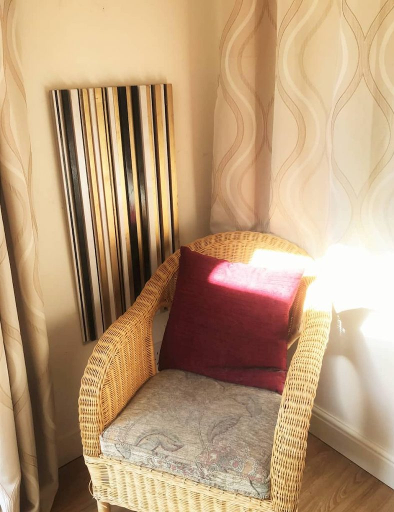 3D Gold black stripes bespoke electric radiators by Ricardo amore collection 9
