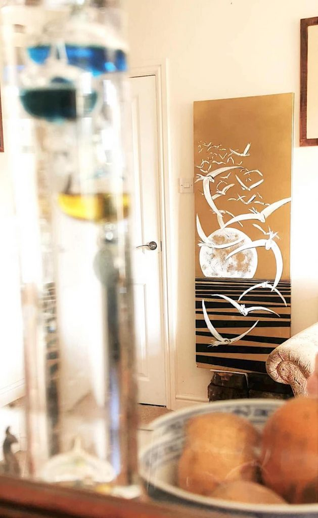 Golden Seascape bespoke creative radiators by Ricardo Amore