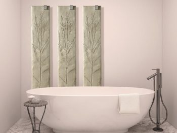 Natura electric radiators can be used in the bathroom