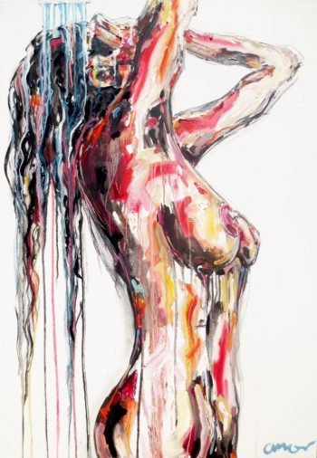 lady nude by Ricardo Amore Designer Collection | Artist | PainterCREATIVE RADIATORS